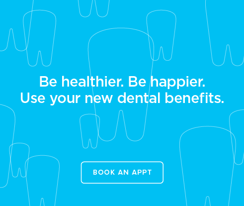 Be Heathier, Be Happier. Use your new dental benefits. - 17th Street  Modern Dentistry